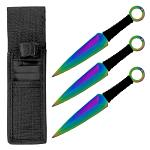 3 - pc. Throwing Knives Set - Titanium