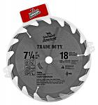 "7.25"" Vermont American Circular Saw Blade with 18 Teeth"
